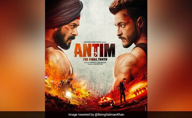 """Antim First Poster: In Salman Khan's Quest For """"The Final Truth"""", Aayush Sharma Is The Face Of Evil"""