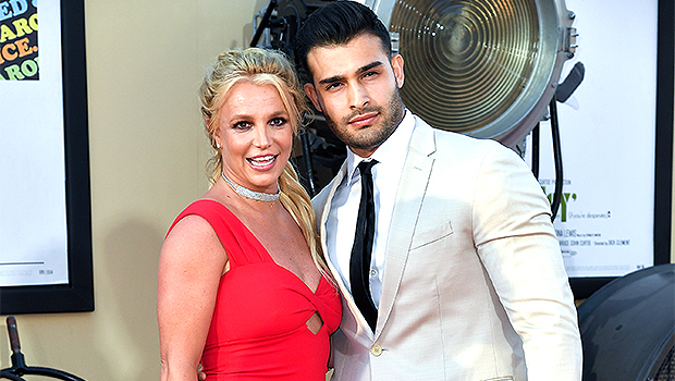 Britney Spears' Boyfriend Sam Asghari Posts & Deletes Ring Pics, Claims He Was Hacked