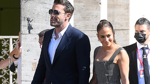 J.Lo Holds Ben Affleck's Hand As She Rocks Black Dress For Venice Film Festival — Photos