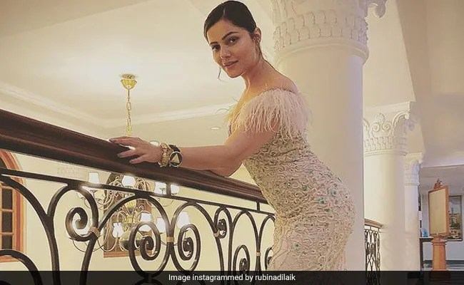 """Rubina Dilaik, Who Gained 7 Kgs Post COVID Recovery, Is """"Learning To Love Herself Again"""""""