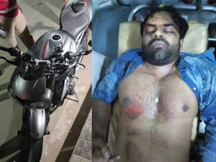 Sai Dharam Tej meets road accident