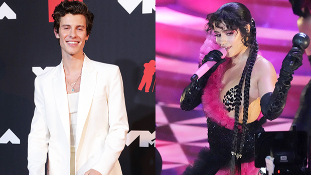 Shawn Mendes Adorably Dances To Girlfriend Camila Cabello's Performance Of 'Don't Go Yet' At VMAs