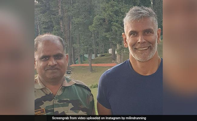 """What Milind Soman Wrote After Getting A """"Fauji Cut From Fauji Cutter"""" In Gulmarg"""
