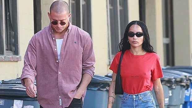 Zoë Kravitz & Channing Tatum Enjoy A Low Key Lunch Date In NYC — Photos