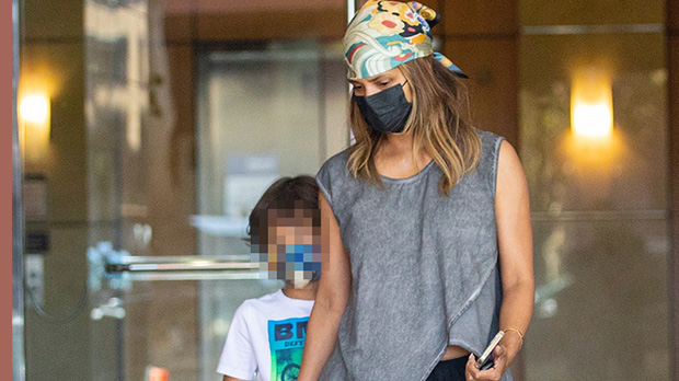 Halle Berry & Look-Alike Son Maceo, 8, Hold Hands While Out In Beverly Hills — Photos
