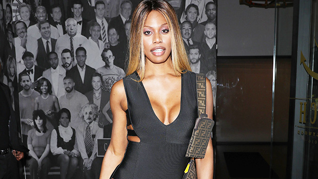 Laverne Cox, 49, Rocks Plunging Black Swimsuit On Vacation: 'Trans Is Beautiful'