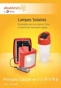 Formation lampe solaire Awango by Total