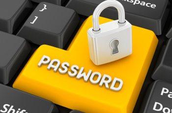 Password security in business