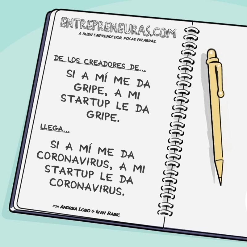 Si a mí me da Coronavirus - Entrepreneuras.com