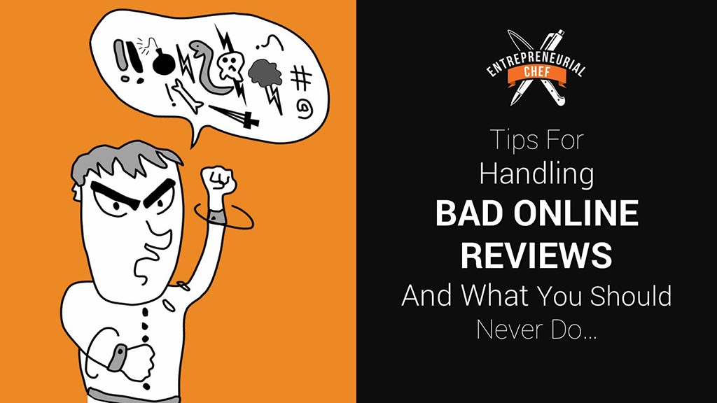 Tips for Handling Bad Reviews