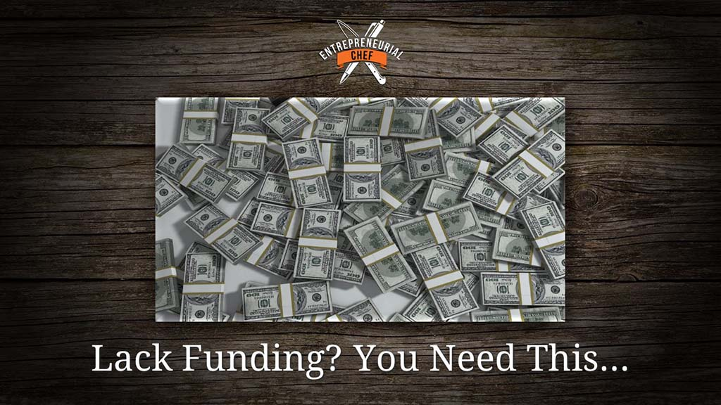 One Thing You Need Instead of Funding
