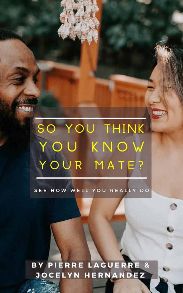 So You Think You Know Your Mate (3)