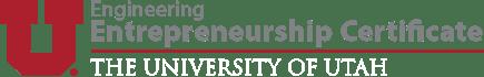 Engineering Entrepreneurship Certificate | University of Utah Logo