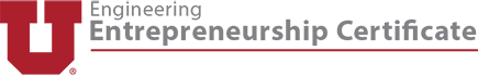 Engineering Entrepreneurship Certificate | University of Utah Logo