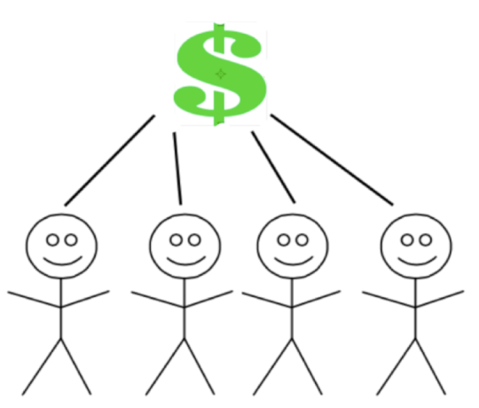 Entrepreneurs may be able to raise seed capital by attracting relatively small amounts of money from a large group of individual investors in the crowd.