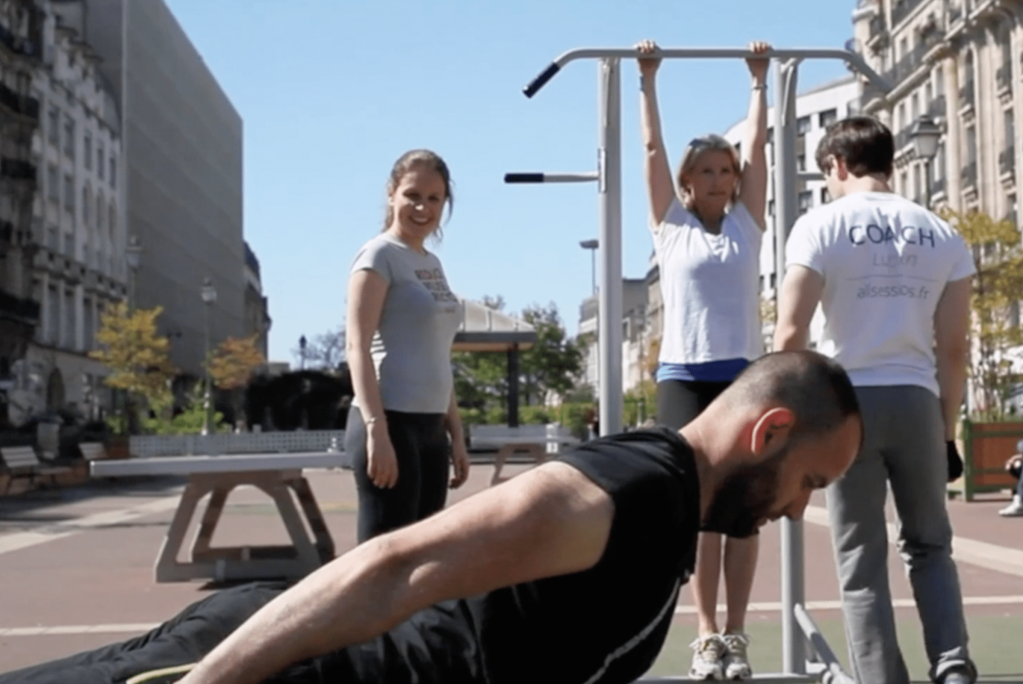 Session Street Workout