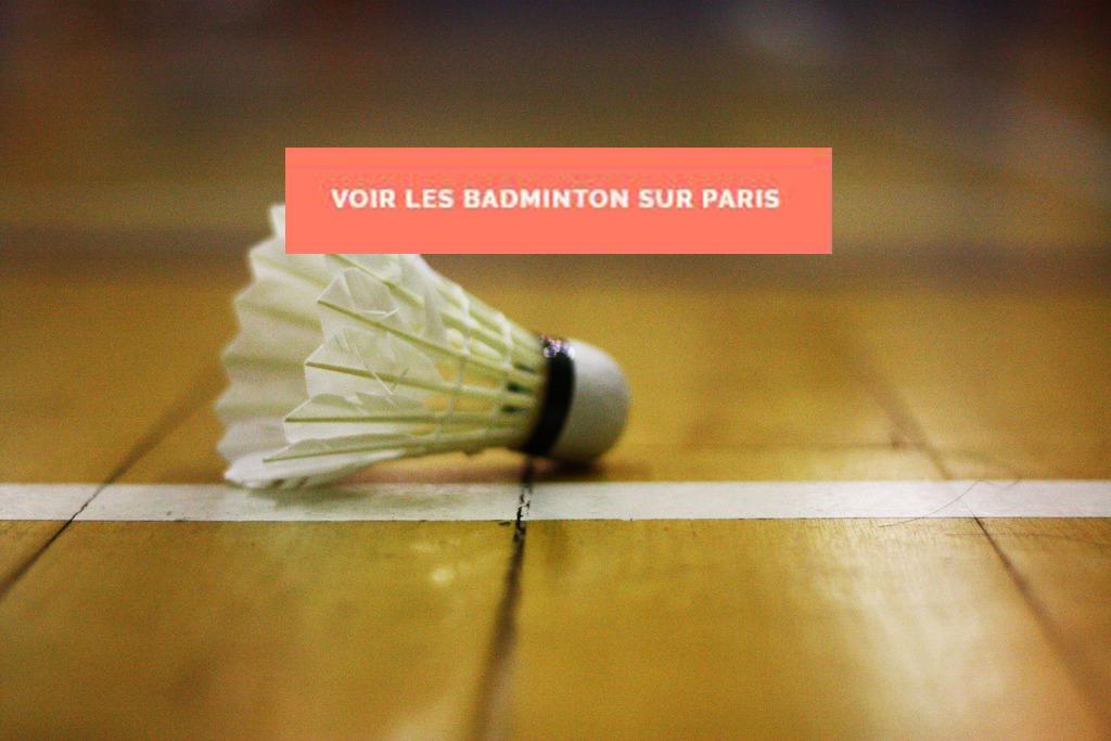 BADMINTON PARIS COLLEGUES