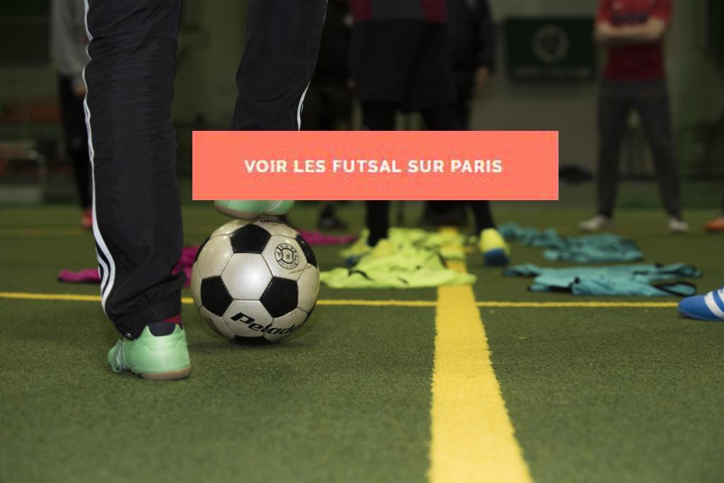 Futsal entre collègues sur Paris