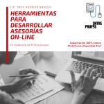 Herramientas para desarrollar asesorías On-Line (Entre Profes)
