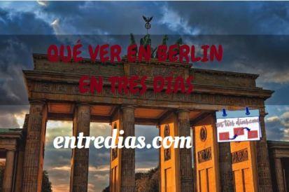 Berlín en tres días