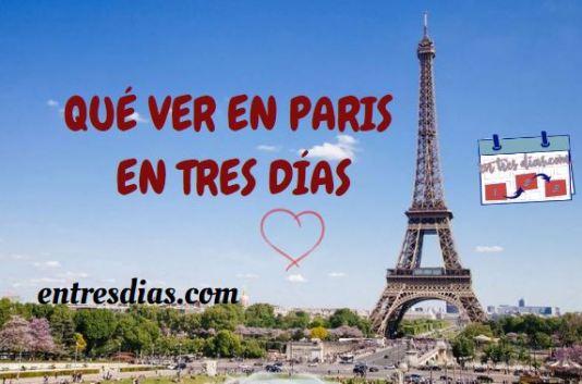 París en tres días