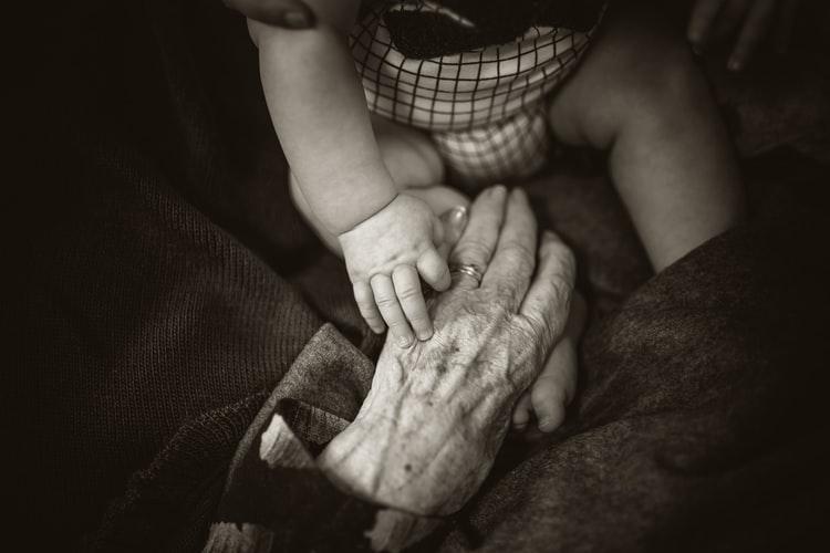 abuelos, familia, amor