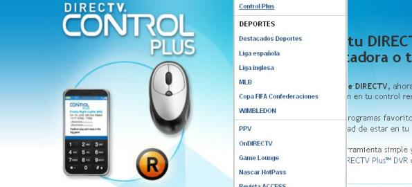 Control Plus - DirectTv
