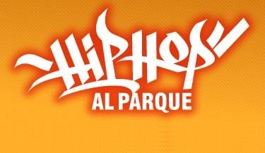 Logo hip hop al parque