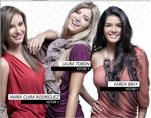 Chica E Colombia finalistas 2011