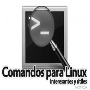 Comandos útiles de consola para Ubuntu