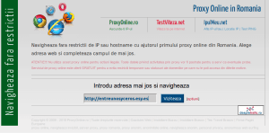 Proxy Online:proxyonline.ro