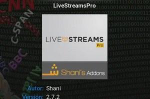 Utilizar una lista m3u con liveStreamsPro