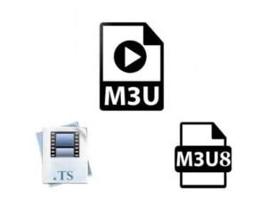 Explicación básica sobre listas m3u, archivos m3u8 y ts