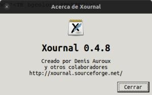 Xournal, subraya el contenido de un pdf en Ubuntu