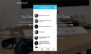 Headset, transforma Youtube en tu Spotify sin anuncios para Ubuntu