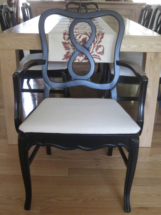 Pottery Barn Napoleon knockoff chair