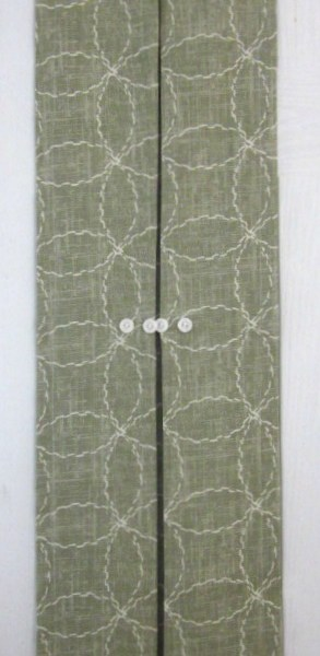 Sidelight Window Panel Green & White