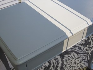 French Blue Nesting Tables