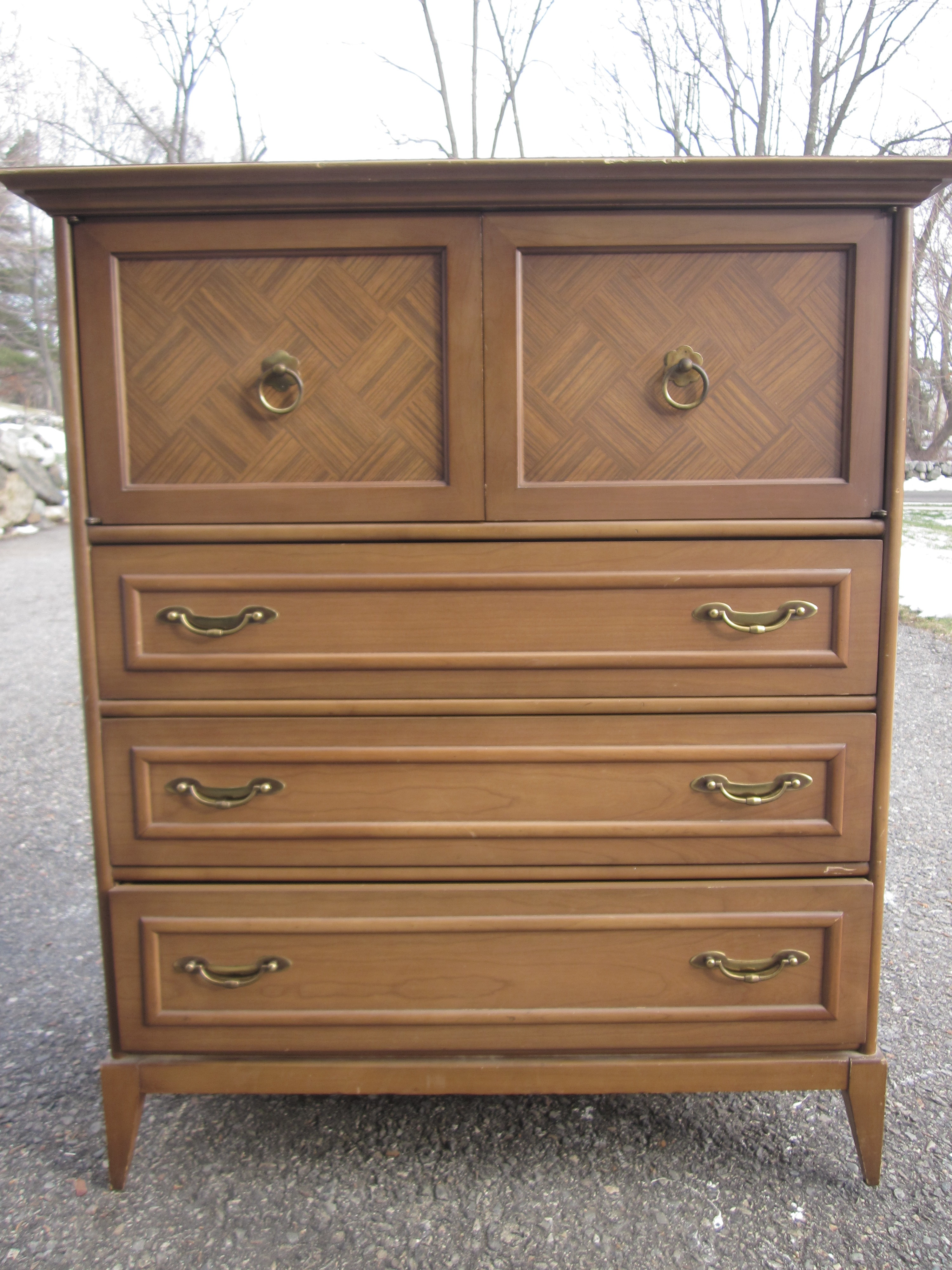 Elegant Broyhill Tall Chest
