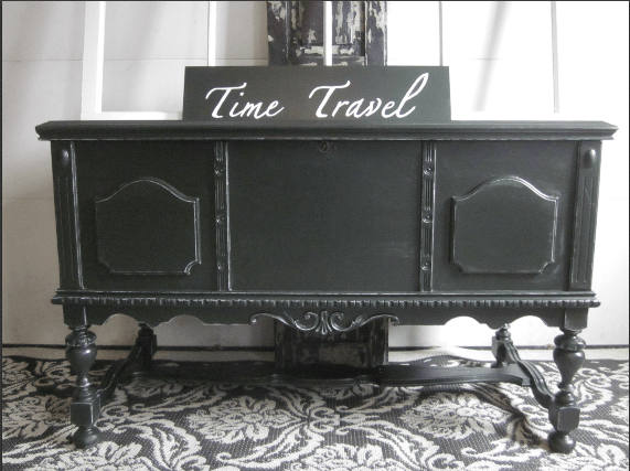 Green Travel Chest