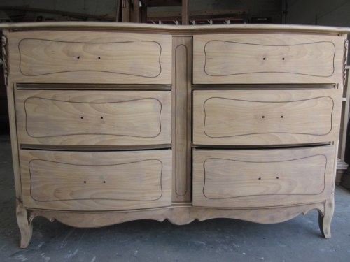 six drawer french dresser