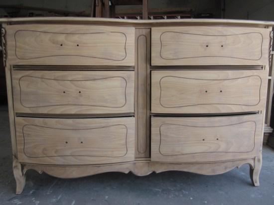 six drawer french dresser