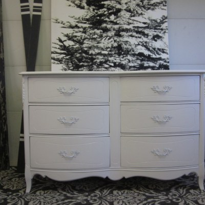 Beginning the College Search & a French Dresser