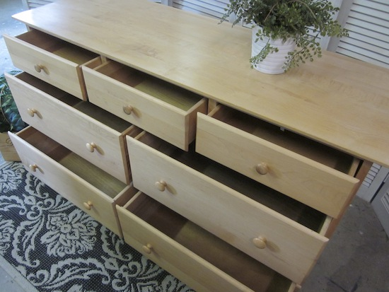 Blonde Maple Dresser 5