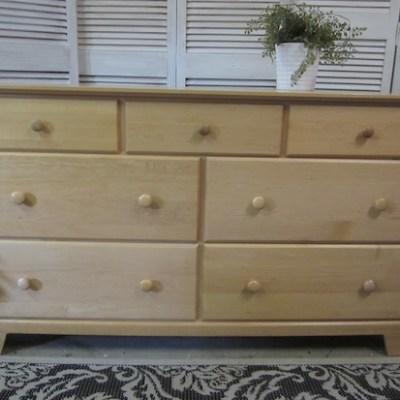 Blonde Maple Dresser