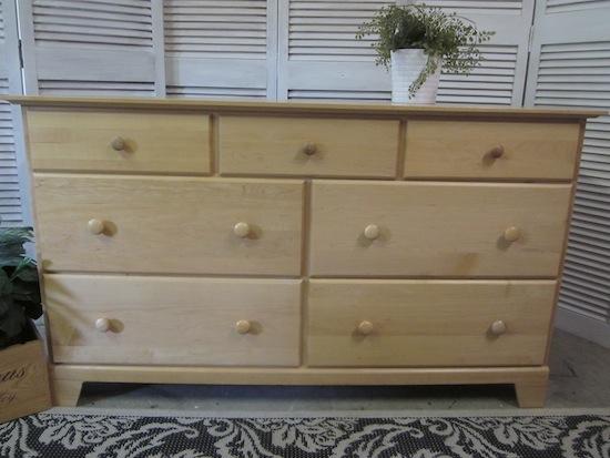 Blonde Maple Dresser 7