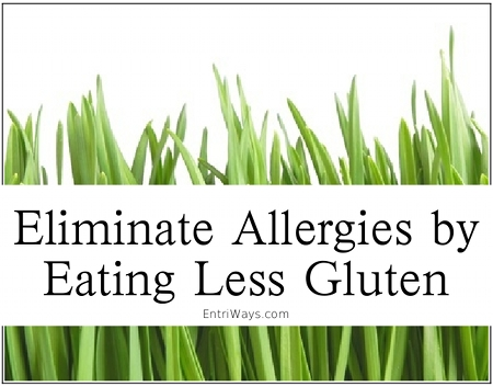 Eliminate Allergies by Eating Less Gluten