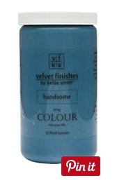 Velvet Finishes Handsome