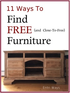 11 Ways to Find Free Furniture vertical 492x600