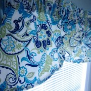 How to Quickly Make a Window Valance Step By Step